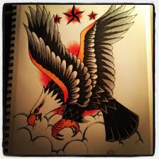 traditional american eagle tattoo photos pictures and sketches