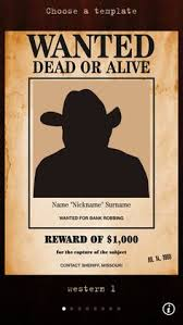 wanted poster template wanted template by maxemilliam
