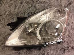 nissan altima 2013 halo headlights hidillusionz lifetime warranty hid retrofit projector headlights
