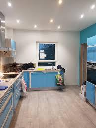 Fertige K Henzeile Wir Bauen Mit Massa Haus Der Erste Raum Ist Fertig Küche Check