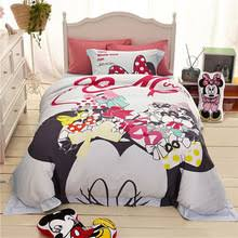 Minnie Mouse Single Duvet Set Online Get Cheap Minnie Mouse Sheets Aliexpress Com Alibaba Group