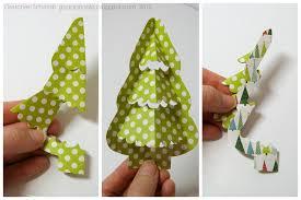 die cutting paper merry evergreen tree tutorial