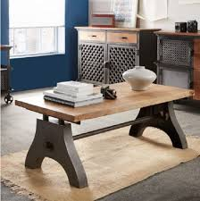 industrial coffee table with wheels evoke iron wooden industrial coffee table featuring wood and metal