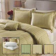 Grand Down All Season Down Alternative Comforter Luxurious 400 Thread Count White Down Comforter 6 Piece Set Free