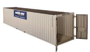 Office Storage Containers - 40 u0027 standard portable storage container mobile mini