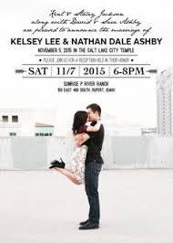 Wedding Invitations Utah Lds Wedding Invitations Paperinvite