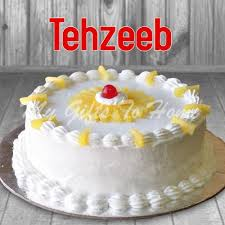 pineapple cake tehzeeb bakery gifts pakistan