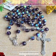 catholic rosary online online shop 8mm purple glass religious rosary