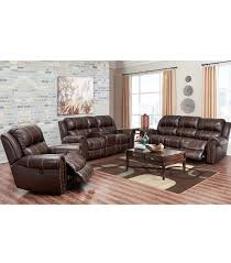 3 piece living room set living room sets channing 3 piece leather set