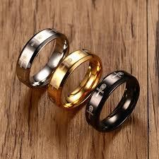 steel male rings images Men 39 s ankh ring egyptian cross with horus eye religious band jpg