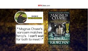wowreadthis magnus chase and the hammer of thor