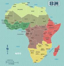 Map Of The Africa by The African Area Of More Than Three China Why So Backward