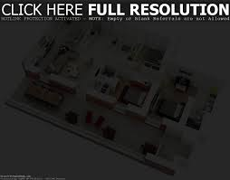 25 more 3 bedroom 3d floor plans house small three luxihome