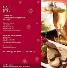 penang restaurant christmas and new year food promotions