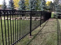 ornamental iron fence calgary cottams fencing contracting