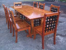 home design nice narra wood dining table recently for sale from