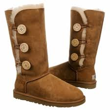 womens ugg bailey boots chestnut ugg s bailey button triplet boot wish it
