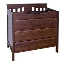 Changing Table In Espresso Shop Changing Tables And Dressers For Baby With An Espresso Or