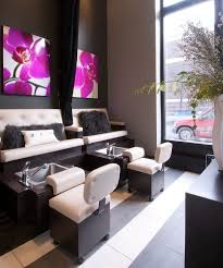 Waiting Benches Salon Best Salon Interior Images On Pinterest Business Nail Salons