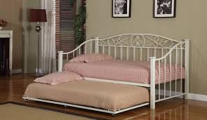 daybed beautiful metal daybed frames single white wooden bed