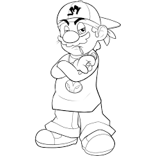 mario brother free coloring pages on art coloring pages