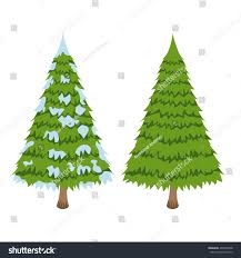 merry christmas tree sign on white stock vector 499236658