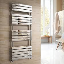 Designer Kitchen Radiators Ibathuk 1600 X 600 Mm Chrome Designer Flat Panel Heated Towel