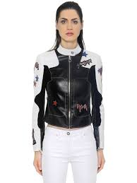 leather biker jackets for sale gianni versace dresses for sale versace stars patches leather