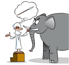 Blind Man And Elephant The Blind Men And The Elephant Level 1 My Wonder Studio