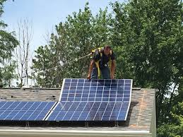 solar bloomington normal shines with first installation wglt