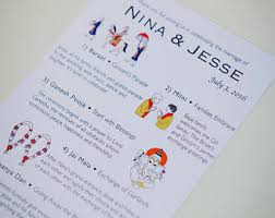 hindu wedding program hindu printable indian wedding ceremony program with drawings