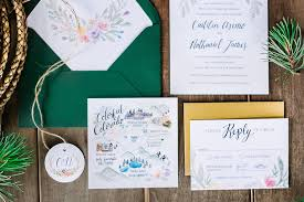 wedding invitation suites our 5 favorite wedding invitation suites of 2016 whimsy design