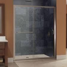 Sterling 5900 Shower Door Sterling 5900 59s 59 3 8 In W X 56 1 4 In H Silver Framed Sliding