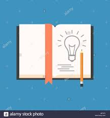 sketch new idea concept flat design isolated on color background