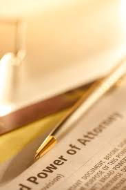 Define General Power Of Attorney by Powers Of Attorney And Third Party Bill Management Ofcom