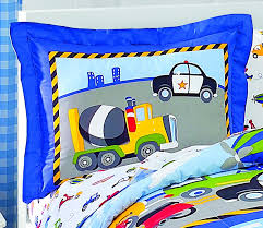 Mini Crib Bedding Sets For Boys by Amazon Com Dream Factory Trucks Tractors Cars Boys 5 Piece