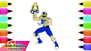 power rangers coloring free power ranger coloring pages for kids