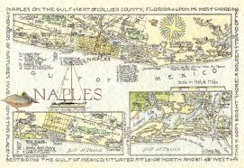 map of naples fl naples florida map in two sizes