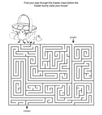 printable hard maze games hard easter maze activity page plus more than 15 hard free online