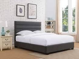 Gray Platform Bed Platform Beds Platform Bed Bases Metal U0026 Upholstered Platform Beds