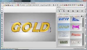 aurora 3d text logo maker v16 3d yazı full indir 3d logo programı