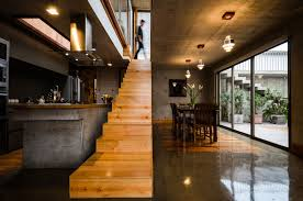 Native House Design by Camille Kurowsky U0027s Green Roof House Is A Rustic Leisure Home In