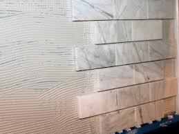 Installing A Kitchen Backsplash Kitchen How To Install A Marble Tile Backsplash Hgtv Kitchen