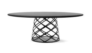 design gartentisch design ideen gartentisch rund mit metall holz ausziehbar