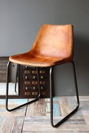 Industrial Dining Chair Industrial Leather Dining Chair Home Furnishings Pinterest