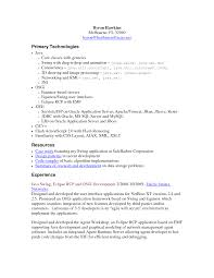 resume sample for experienced software developer for android