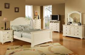 full size bedroom sets in white bedroom bedroom with beige wall and white bed and cabinetries in
