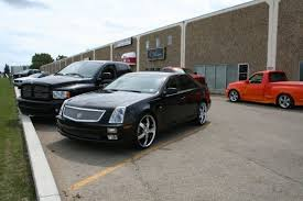 custom black light sts fueld designs 2005 cadillac sts specs photos modification info at