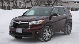 nissan highlander 2015 2016 toyota highlander limited v6 awd test drive review