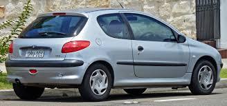 2 door peugeot cars file 1999 2003 peugeot 206 t1 xr 3 door hatchback 2011 01 05